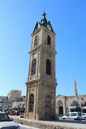 The Clock Tower, Jaffa, Israel photo