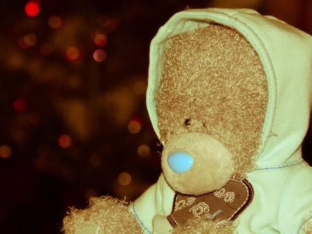 yesteryear: vintage yesteryear old teddy bear
