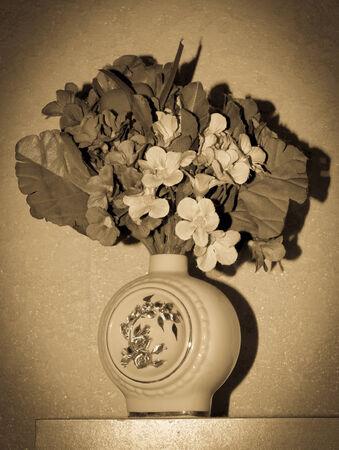 yesteryear: vintage yesteryear bowl of flowers