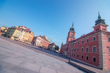 View of the Old town in Warsaw, Poland Stock Photo