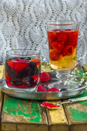 fruit jelly: Summer fruit jelly