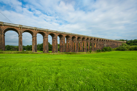 sussex: Balcombe Viaduct in Ouse Valley, West Sussex, UK
