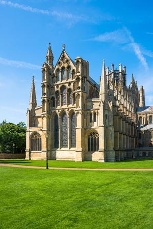 イーリー、ケンブリッジ、イギリスの大聖堂のビュー