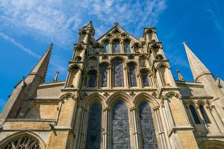 イーリー大聖堂、ケンブリッジ、イギリスの上向き表示