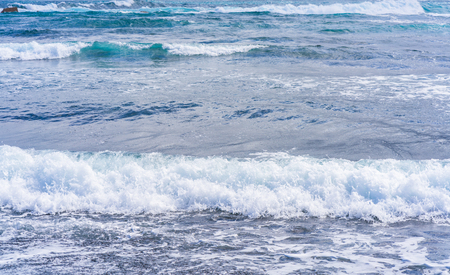 Waves crashing on a shore in Tenerife Stock Photo - 98919577