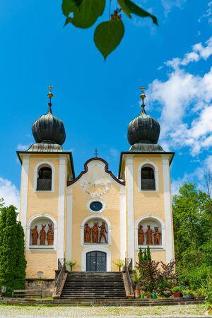 Kalvarienberg church (Kalvarienbergkirche) in Bad Ischl, Austria