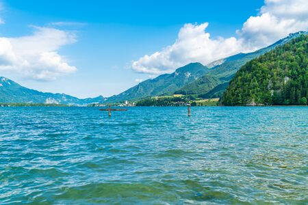 Lake St. Wolfgang, Austria Stock Photo - 128573402