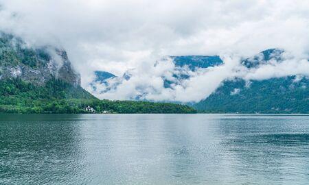 Hallstatter Lake in Salzkammergut region, Austria