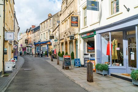 CIRENCESTER, UK - SEPTEMBER 23, 2019: Cirencester is a market town in Gloucestershire, often referred to as the Capital of the Cotswolds and is the largest town in the Cotswolds