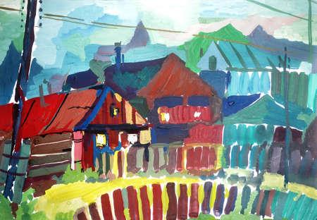 Rural landscape Stock Photo - 9414542