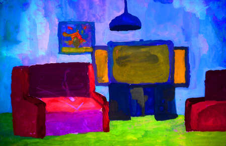 expressional: Expressional interior. Matisse