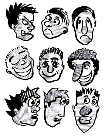 expressional: Expressional mans mimicry