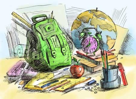 school equipment  Stock Photo - 10281077