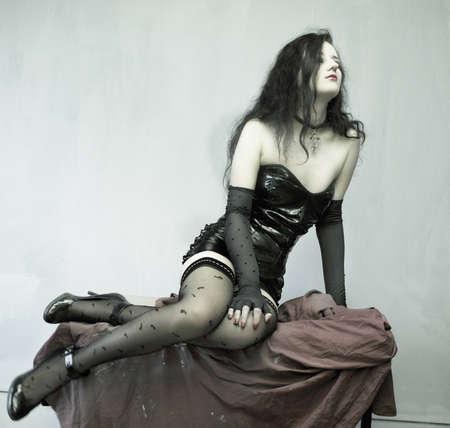 The sexy girl photo