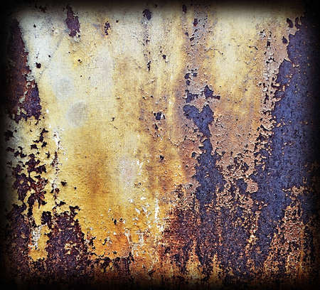 metal corrosion: abstract   background.Corrosion metal Stock Photo