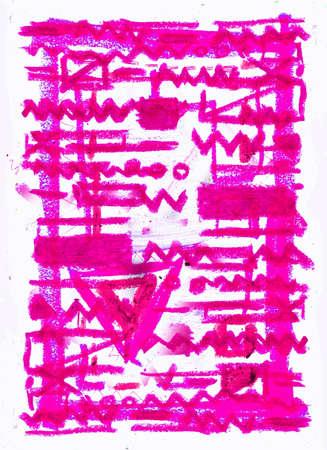 ameba: composici�n abstracta Foto de archivo