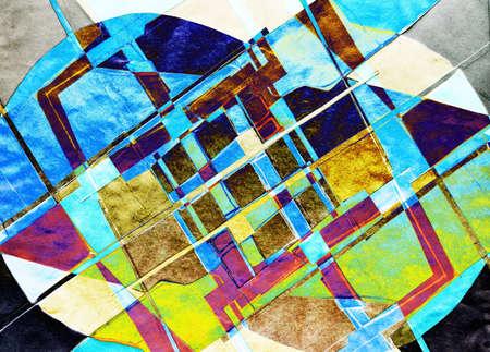 ameba: Composici�n abstracta.