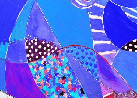 amoeba: Composizione astratta. Archivio Fotografico