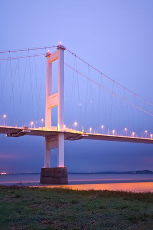 severn: Bridge Stock Photo