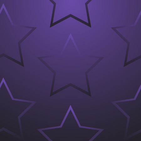 purple christmas background with star decorations