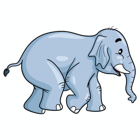Elephant Cute Cartoon