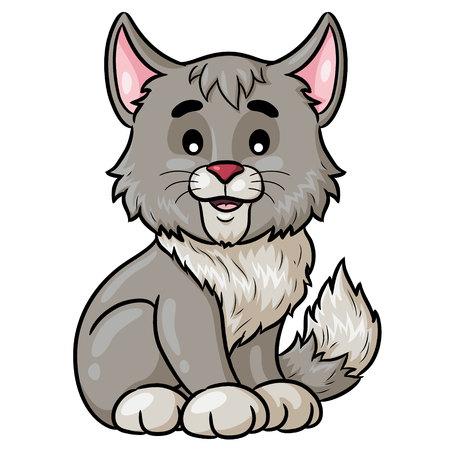 Cat Cartoon Cute
