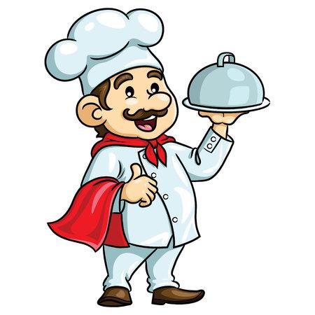 Chef Cartoon illustration