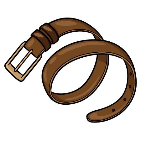 Belt Cartoon Ilustrace