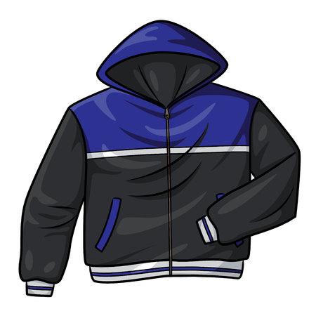 Jacket Cartoon Banque d'images - 117626936