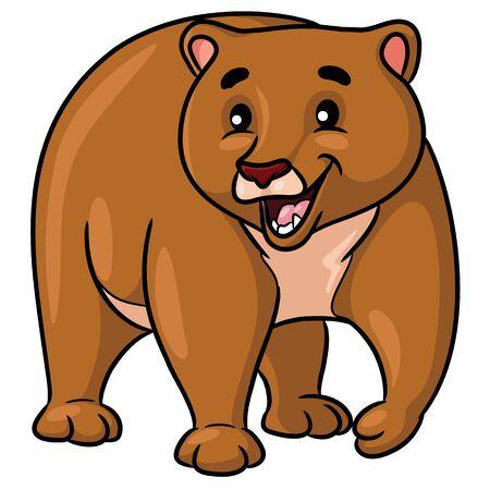 Brown Bear Cartoon