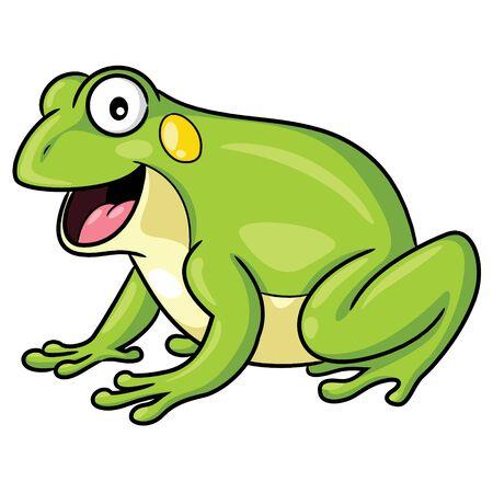 Frog Cartoon Style Imagens - 127410165