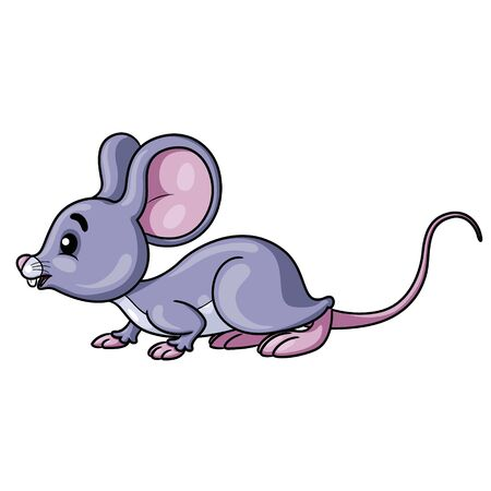 Mouse Cute Cartoon 矢量图像