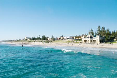 Cottesloe beach in Perth, Australia. Stock Photo
