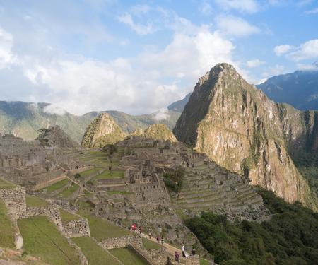 Machu Picchu, the ancient Inca city in the Andes, Cusco, Peru
