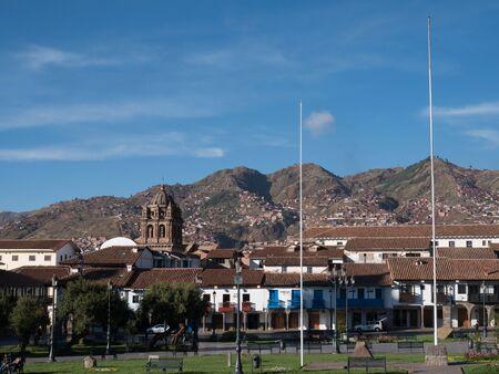 Plaza de Armas in Cusco, Peru