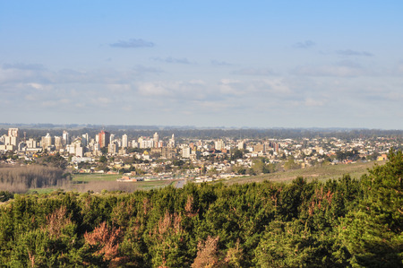General view of Tandil City in Buenos Aires, Argentina