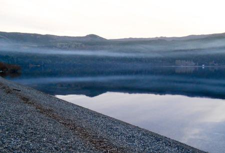 siete: Lolog Lake in San Martin de los Andes, Patagonia, Argentina Stock Photo