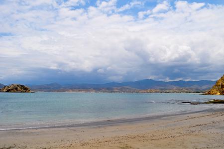 Los Frailes beach in Parque Nacional Machalilla, Puerto Lopez, Ecuador