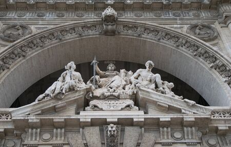 tiber: Italian Palace of Justice in Rome, Italy Editorial