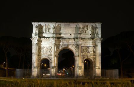 Arco di Constantino in Rome, Italy Stock Photo