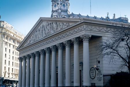 Buenos Aires Metropolitan Cathedral facade
