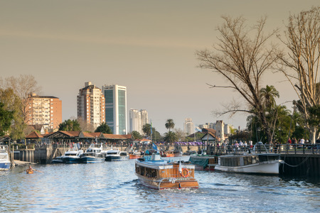 Tigre River, in Tigre City, Buenos Aires, Argentinien