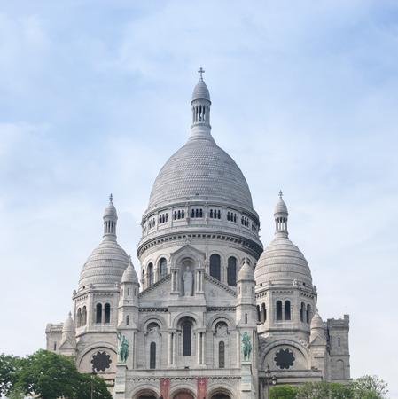 sacre coeur: Basilique Sacre-Coeur sur Montmartre, Paris, France