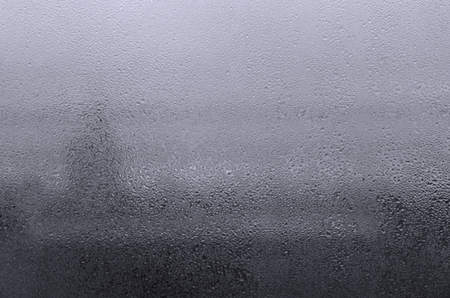 background of raindrops on glass