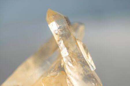 Quartz cristal rock detail