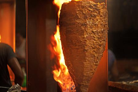 Mexican tacos of met al pastor