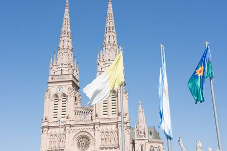 Basilica of Our Lady of Lujan in Buenos Aires, Argentina Stock Photo