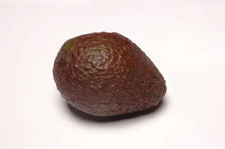 Avocado, Close Up on white background
