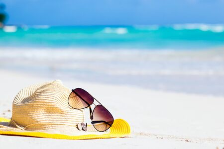 sunnies: Remote tropical beaches and countries. travel concept