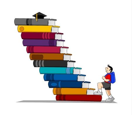 libro caricatura: Educaci�n
